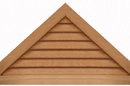 "GVP1148 - 48"" base 11/12 pitch Triangle Gable Vent"