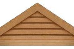 "GVP942 - 42"" base 9/12 pitch Triangle Gable Vent"