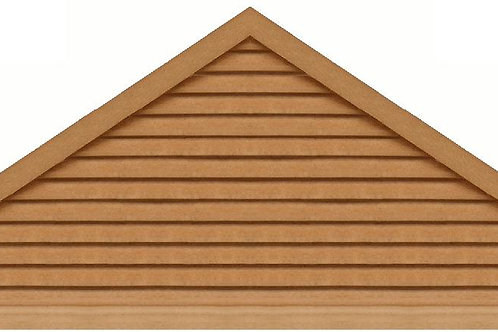 "GVP8120 - 120"" base 8/12 pitch Triangle Gable Vent"