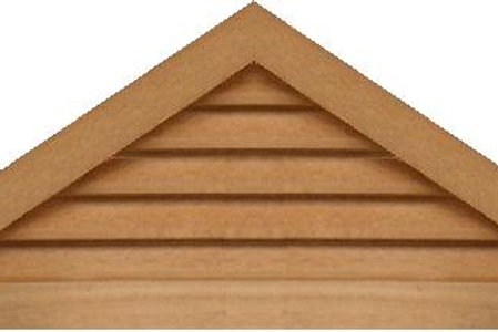 "GVP848 - 48"" base 8/12 pitch Triangle Gable Vent"