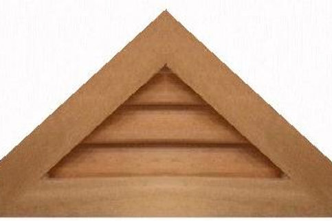 "GVP1124 - 24"" base 11/12 pitch Triangle Gable Vent"