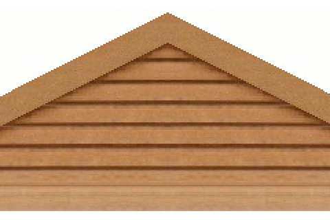 "GVP684 - 84"" base 6/12 pitch Triangle Gable Vent"