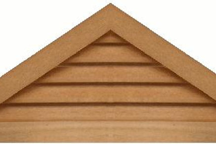"GVP842 - 42"" base 8/12 pitch Triangle Gable Vent"
