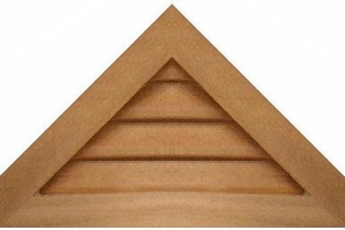 "GVP1224 - 24"" base 12/12 pitch Triangle Gable Vent"