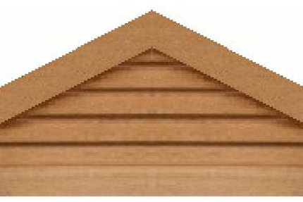"GVP660 - 60"" base 6/12 pitch Triangle Gable Vent"