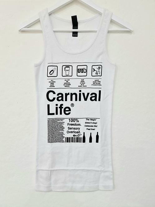 Carnival life soca tank top / singlet