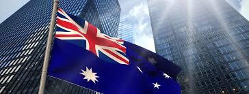 Australia flag business