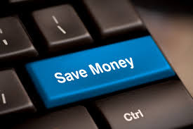 Save Money black keyboard return key