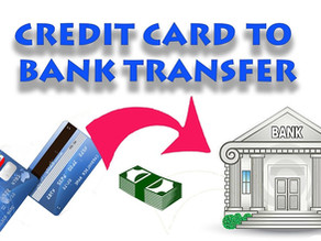 How To Transfer Money From Credit Card to Bank Account?