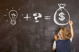 kid calculating formula in how to save money