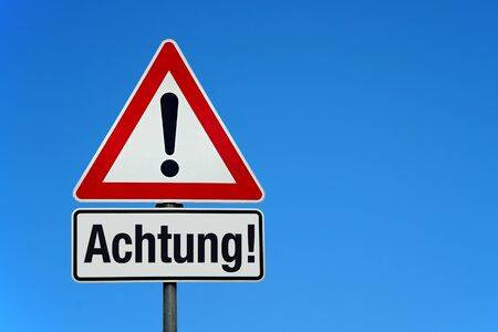 achtung! caution! stop! be aware of hidden charges with your online money transfer