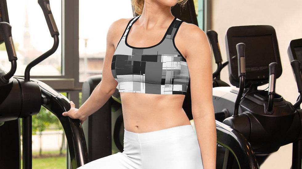 Sports bra grey block