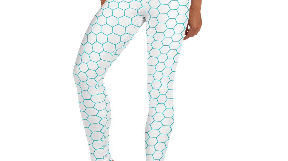 Hex Yoga Leggings White