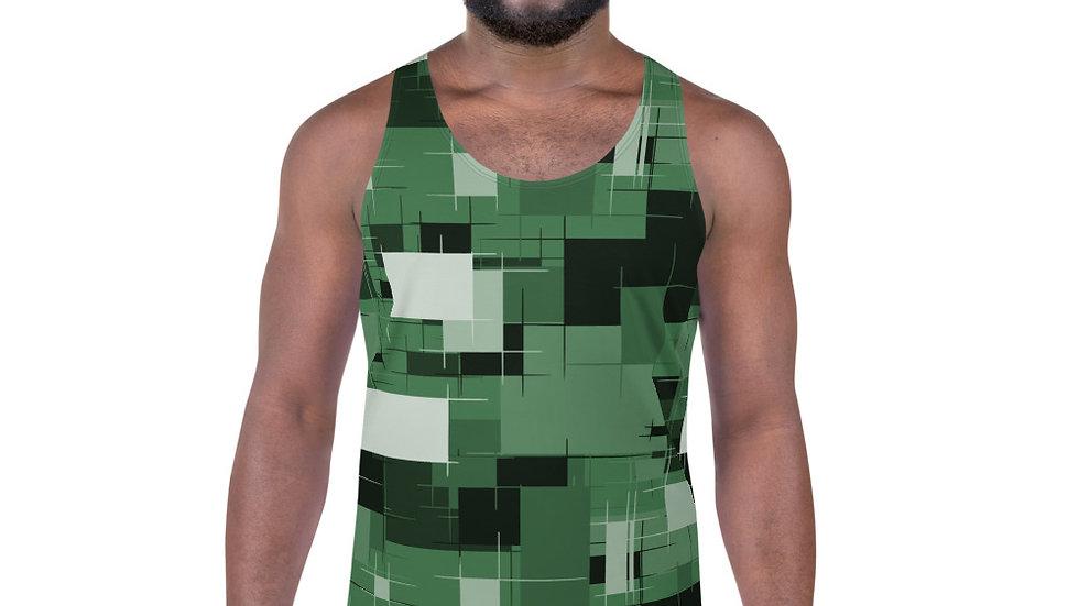 Tank Top Green block