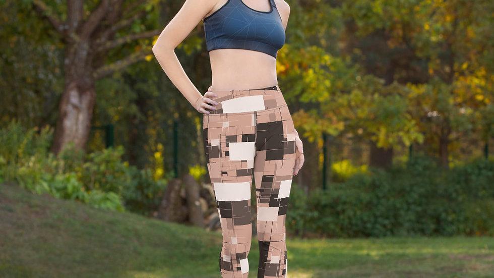 Yoga Leggings nude block