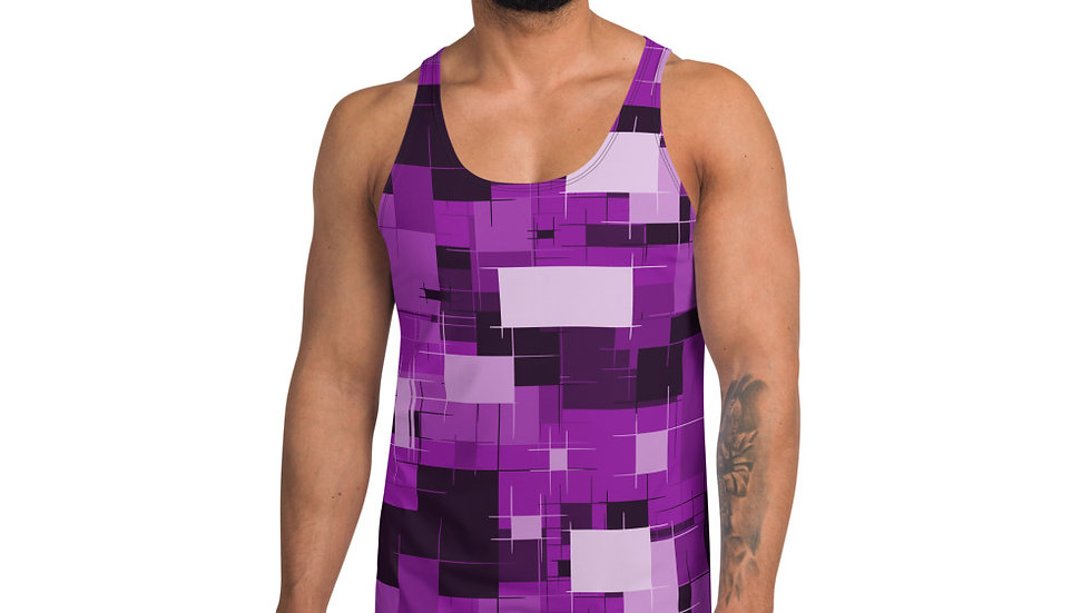 Tank Top Purple block