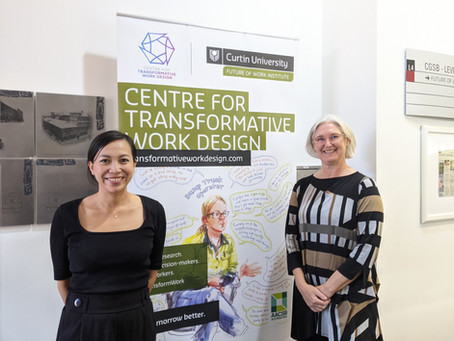 Our first visitors for 2021! Meet Associate Professors Helena Nguyen and Anya Johnson