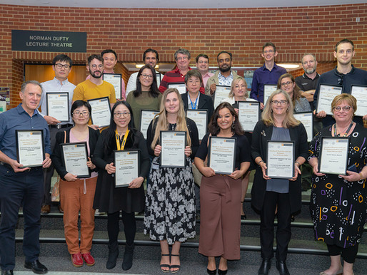 2020 Curtin University Faculty of Business and Law staff award winners