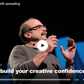 TED Talk: How to build your creative confidence