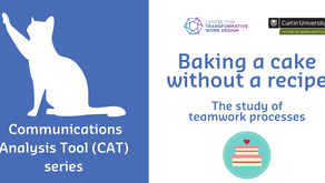 Baking a cake without a recipe: The study of teamwork processes - Part 3
