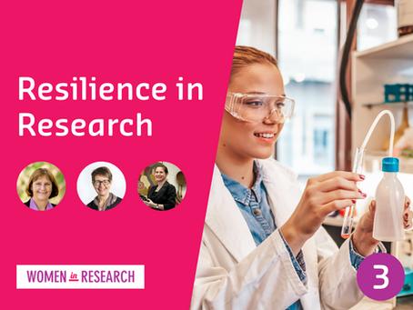 Webinar #3: Resilience in Research