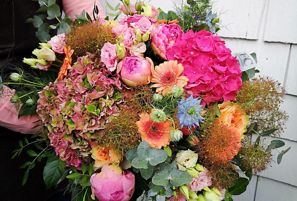 Bouquet rose/fuchsia