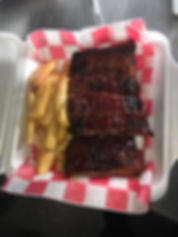 Tims ribs fries lunch.JPG