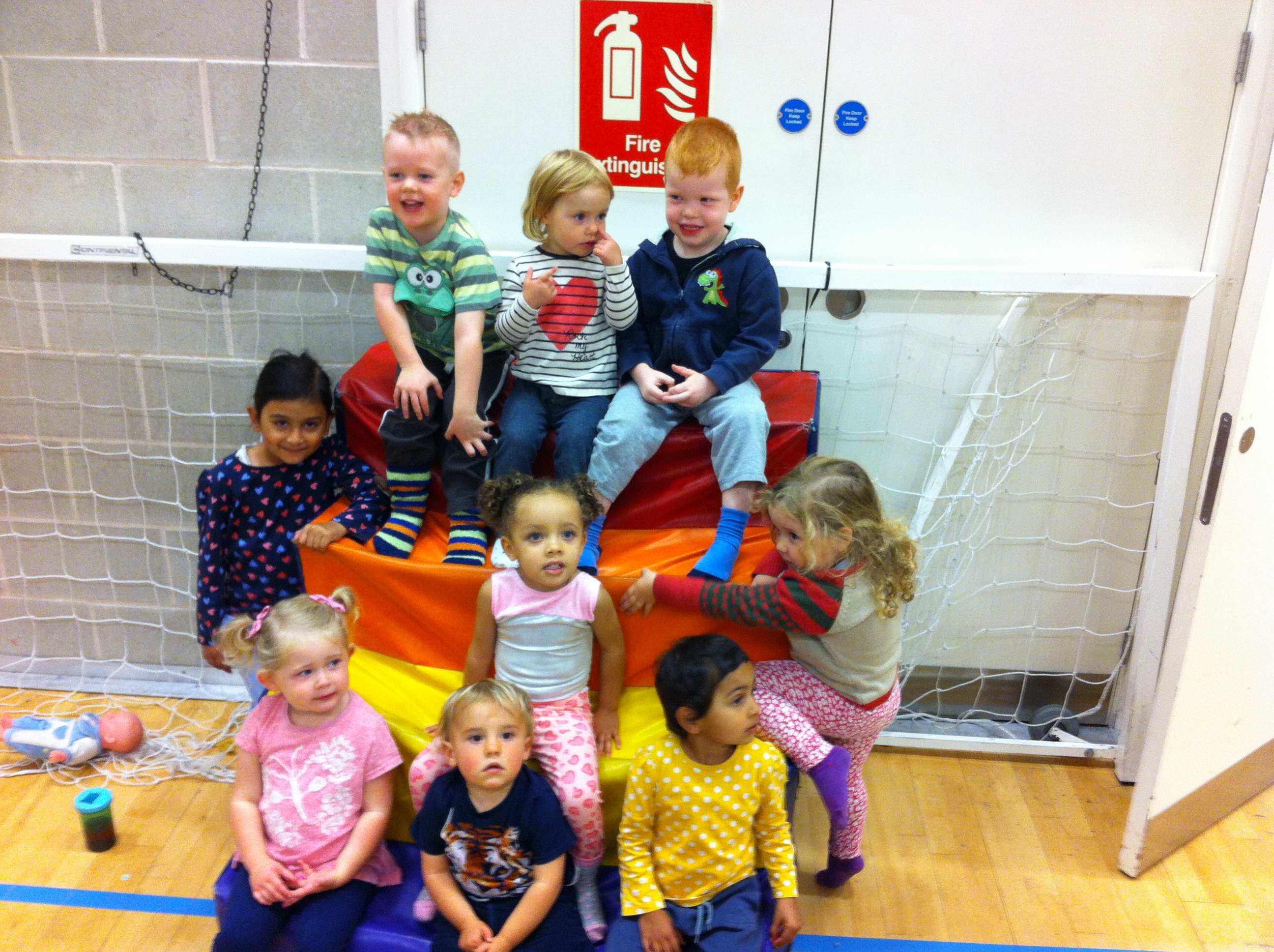 Our baby bounce group