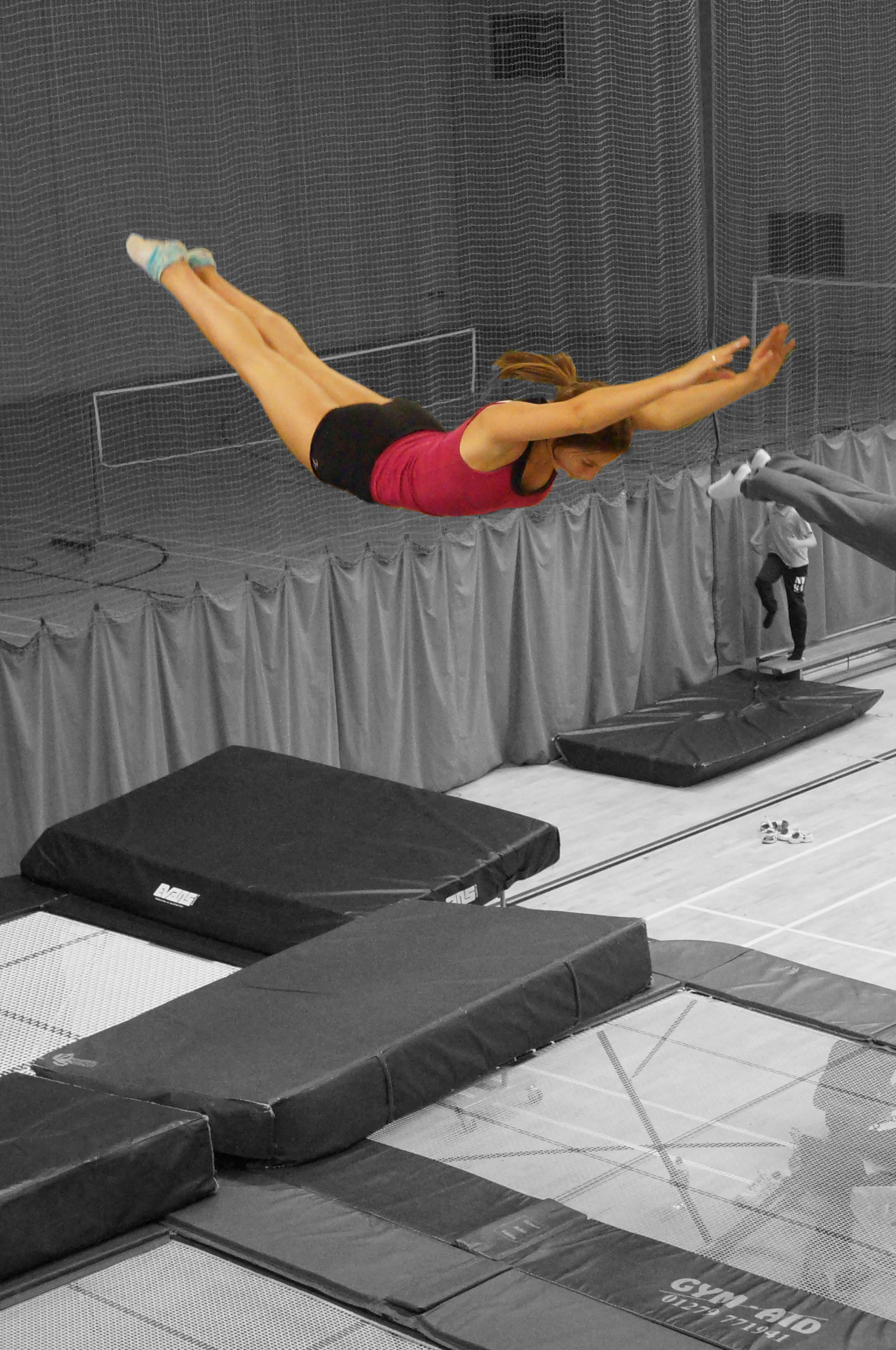 Rachael Crash Dive