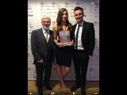 Collecting our Award