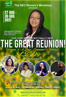 The Great Reunion Summer Retreat Poster