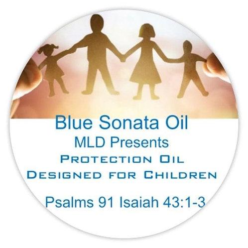 Blue Sonya Children Protective Oil