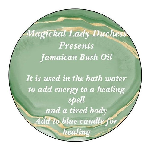 Jamaican Bush Healing and Revive Oil