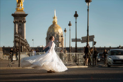 巴黎街拍婚纱,巴黎婚纱摄影