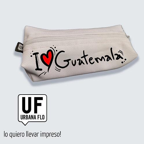 "Estuche ""I love Guatemala"""