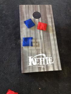 Kettle Brand Chips Cornhole Set
