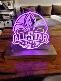 NBA All Star Event Signage