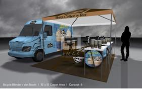 Petes Coffee Bicycle Blenders Van