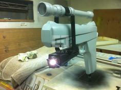 Foam Sculpted Gun Product Display