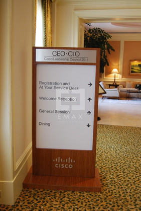 Cisco Conference Information Board