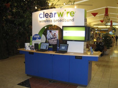 Clearwire Mall Kiosk