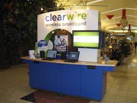 Clearwire Mall Kiosk