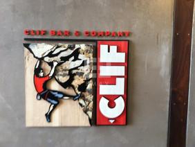 Clif Bar Lobby Sign