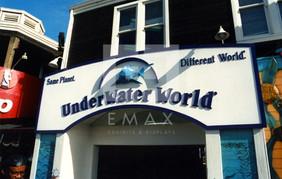 Underwater World Outdoor Sign