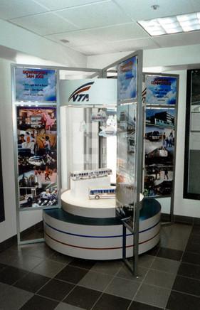 VTA Lobby display