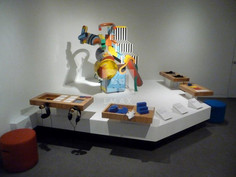 OMCA Rotating Sculpture Stage