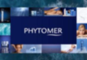 Illustration gamme de produits de beauté Phytomer Genève