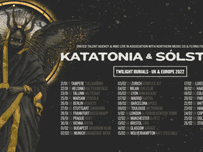 Katatonia and Solstafir team up for European tour with dates in Manchester, London, Bristol