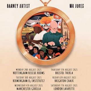 Mr Jukes and Barney Artist