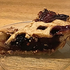 Homemade Blackberry Peach Pie